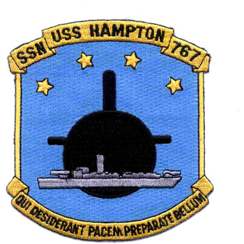 SSN-767 USS Hampton Patch
