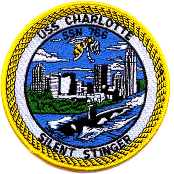 SSN-766 USS Charlotte Patch