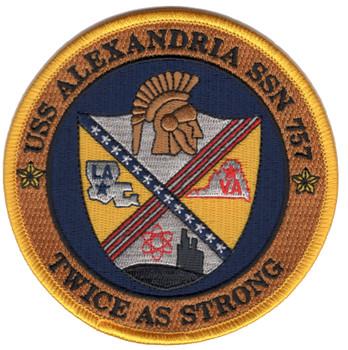 SSN-757 USS Alexandria Patch