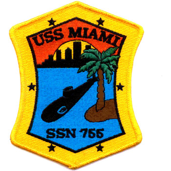 SSN-755 USS Miami Patch