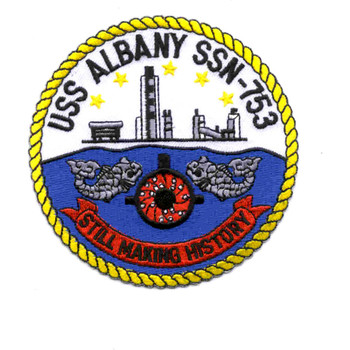 SSN-753 USS Albany Patch