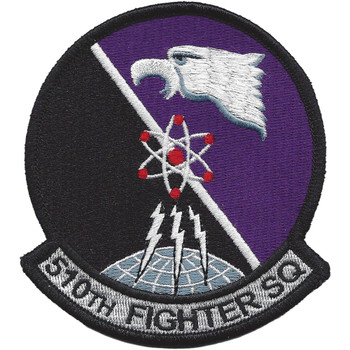 510th Fighter Squadron Emblem Patch