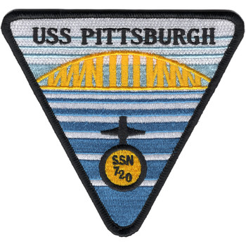SSN-720 USS Pittsburgh Patch