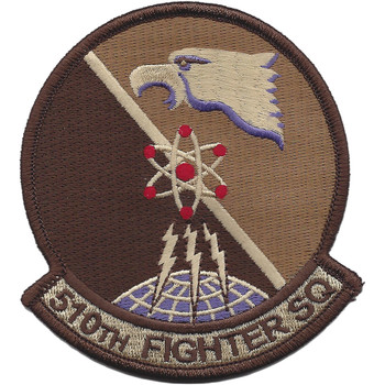 510th Fighter Squadron Desert Patch