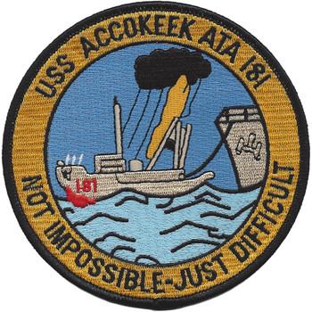 USS Accokeek ATA 181 Patch