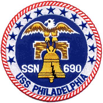 SSN-690 USS Philadelphia Patch