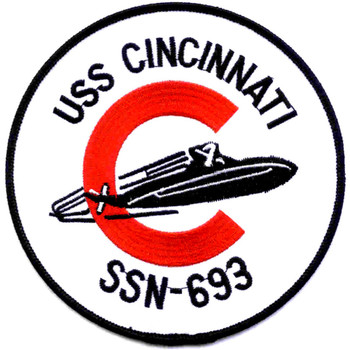 SSN-693 USS Cincinnati Patch