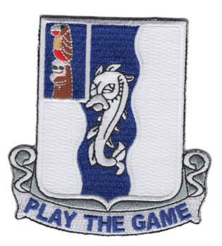 50th Infantry Regiment Patch Play The Game