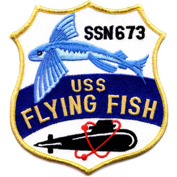SSN-673 USS Flying Fish Patch