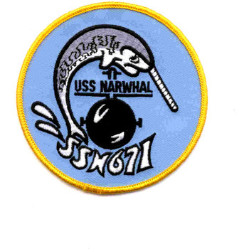SSN-671 USS Narwhal Patch