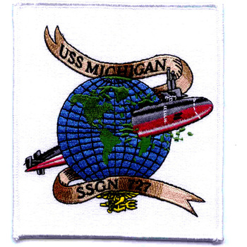SSGN-727 USS Michigan Patch
