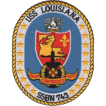SSBN-743 USS Louisiana Patch