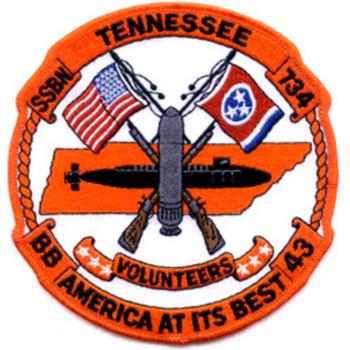 SSBN-734 USS Tennessee Patch