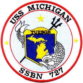 SSBN-727 USS Michigan Patch
