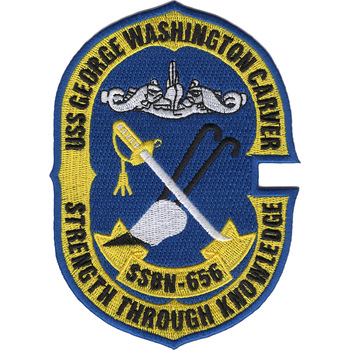 SSBN-656 USS George Washington Carver Patch