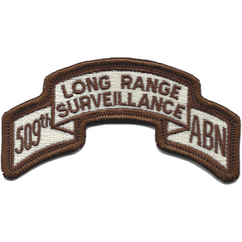 509th LRS Airborne Infantry Desert Patch