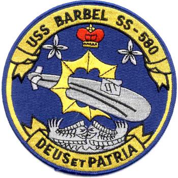 SS-580 USS Barbel Patch - B Version