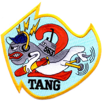 SS-563 USS Tang Patch - A Version