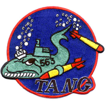 SS-563 USS Tang Diesel Submarines Patch