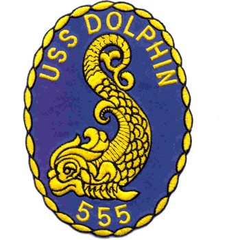 SS-555 USS Dolphin Patch