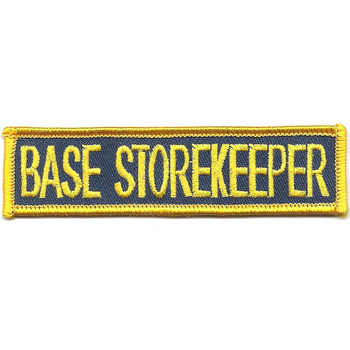 Submarine Base Storekeeper Patch