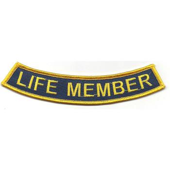 Submarine Base Life Member Patch