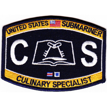 Submarine Administration Rating Culinary Specialist Patch