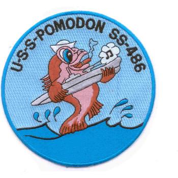 SS-486 USS Pomodon Patch