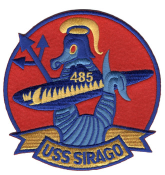 SS-485 USS Sirago Patch