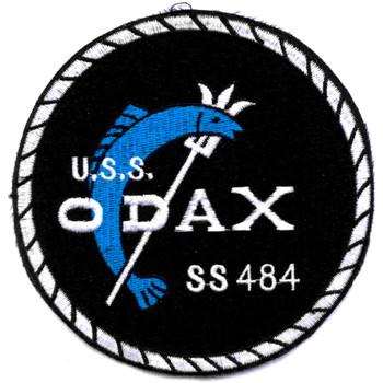 SS-484 USS Odax Patch - Version A