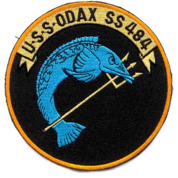 SS-484 USS Odax Patch