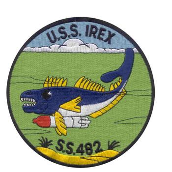SS-482 USS Irex Patch - Version B