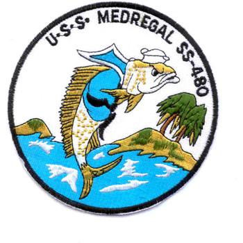 SS-480 USS Medregal Patch