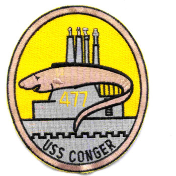 SS-477 USS Conger Patch