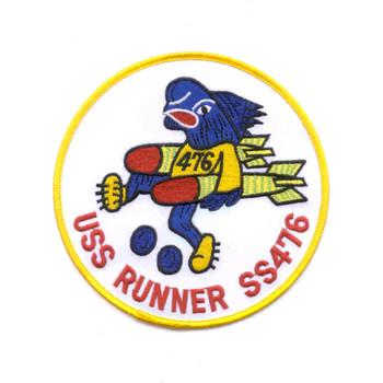 SS-476 USS Runner Patch
