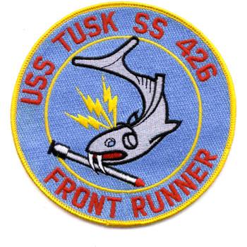 SS-426 USS Tusk Patch - Version A