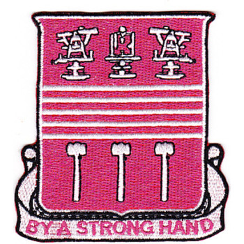 353rd Engineer Battalion Patch