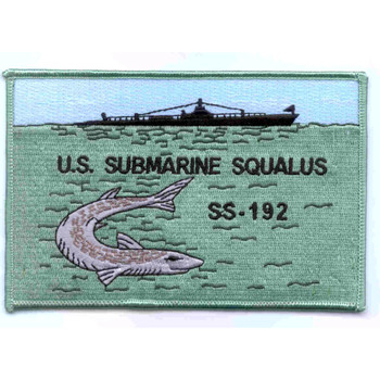 SS-192 USS Squalus Patch