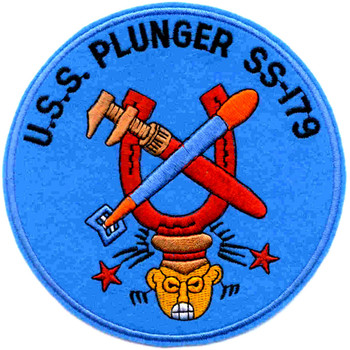 SS-179 USS Plunger Patch