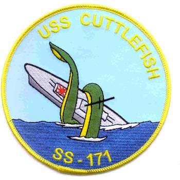 SS-171 USS Cuttlefish Patch - A Version
