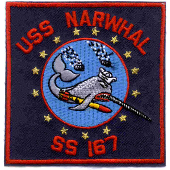 SS-167 USS Narwhal Patch