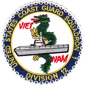 Squadron One Division Twelve Patch Vietnam