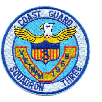 Sqaudron 3 Vietnam 1968 Patch