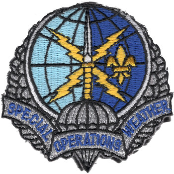 Spec Ops Weather Crest Patch