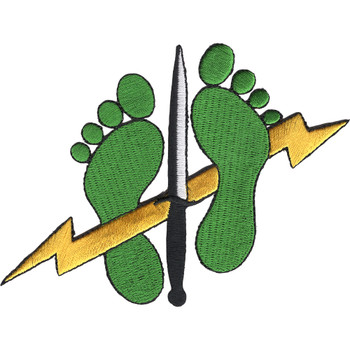 Special Tactics Squadron Jolly Green Feet Patch
