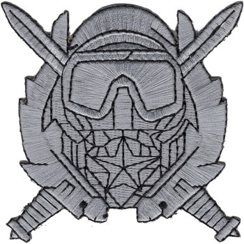 Special Operations Diving Supervisor Badge Patch