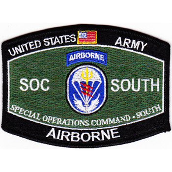 Special Operations Command South MOS Patch