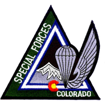 Special Forces Rocky Mountain Chapter Colorado Patch