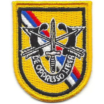 Special Forces Korea Flash With Crest Patch