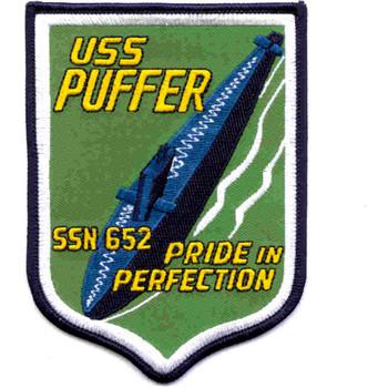 SSN-652 USS Puffer Patch